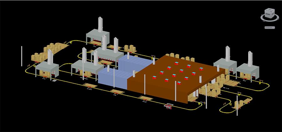 Rsi Center Line Tow Conveyor Rhodes Systems International